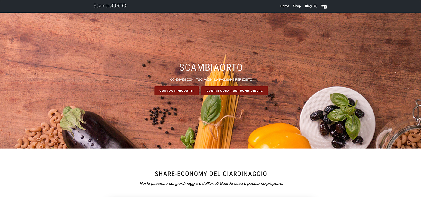 ScambiaOrto user flow
